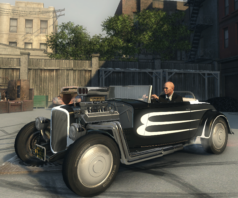 Mafia Secret Car -